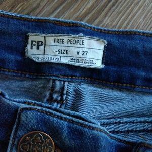 Free People high waist skinny leg jegging jean